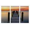 Ready2hangart 'Morning Fog' by Bruce Bain 3 Piece Photographic Printt on Wrapped Canvas Set