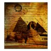 Ready2hangart 'Egyptian Pyramid' by Alexis Bueno Graphic Art on Wrapped Canvas