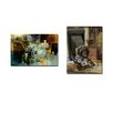 Ready2hangart 'People, Places, Things XII' by Alexis Bueno 2 Piece Graphic Art on Wrapped Canvas Set