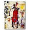 Ready2hangart Zane 'In the Groove' Painting Print Wrapped on Canvas