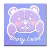 Ready2hangart Valentine's Day 'Beary Loved' Graphic Art on Wrapped Canvas