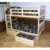A&L Furniture 2 Piece Underbed Storage Drawer Set
