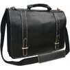 AmeriLeather Traditional Leather  Double Slip-in Executive Briefcase