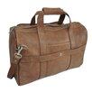"AmeriLeather 18"" Leather Weekender Duffel"