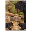 WGI-GALLERY Bear Creek Gang Painting Print on Wood