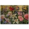WGI-GALLERY Songbird Elements Painting Print on Wood