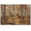 WGI-GALLERY Autumn Pursuit Painting Print on Wood