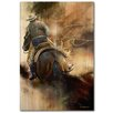 WGI-GALLERY Ropin the Wind Painting Print on Wood