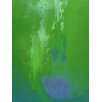 Art Excuse 'Violet Cradle' by AX Original Painting on Wrapped Canvas