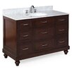 "Kitchen Bath Collection Amelia 48"" Single Bathroom Vanity Set"