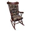 Klear Vu Cabernet Gripper Jumbo Rocking Chair Cushion