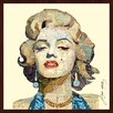"Empire Art Direct ""Homage to Marilyn"" Original Dimensional Collage Hand Signed by Alex Zeng Framed Graphic Art"