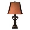 "Jenkins Lamp, Inc. Fleur De Lis 31"" H Table Lamp with Empire Shade (Set of 2)"