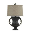 "Jenkins Lamp, Inc. Antler 27"" H Table Lamp with Empire Shade"