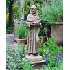 Campania International St. Francis with Shell Statue