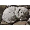 Campania International Curled Dog Small Statue