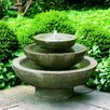 Campania International Cast Stone Platia Fountain