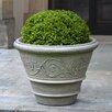 Campania International Arabesque Round Pot Planter