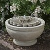 Campania International Fleur Cast Stone Fountain