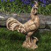 Campania International Antique Rooster Statue