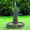 Campania International Palazzo Cast Stone Obelisk Fountain