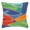 Kate Nelligan Dory Dock Hooked Wool Throw Pillow