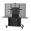 VFI Metal Mobile Cart with Single Monitor Mount