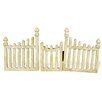 Boston International Fairy Picket Fence and Gate (Set of 2)