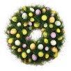 "Boston International 16"" Faux Egg Wreath"