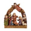 Boston International Nativity Whimsical Figurine