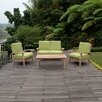Cambridge Casual Monterey 4 Piece Lounge Seating Group with Cushion