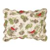 Laurel and Mayfair Winter Bird Quilted Sham