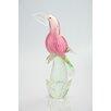 Diamond Star Glass Glass Bird Figurine