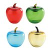 Diamond Star Glass Glass Apple Sculpture (Set of 16)