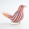 Diamond Star Glass Glass Bird Figurine