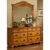 Sunset Trading Brighton 7 Drawer Dresser with Mirror