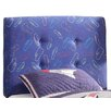 HomePop Twin Upholstered Headboard in Blue