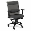 Alera® Eon Series Mid-Back Swivel and Tilt Conference Chair with T-Arms