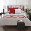 Maison Condelle Adrien Lewis Diamond 6 Piece Comforter Set