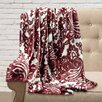 Maison Condelle Adrien Lewis Ultra Soft Printed Paisley Throw