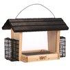 Nature's Way Advanced Bird Products, Suet 6-Qt Hopper Wild Bird Feeder