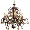 LightUpMyHome Ariel 6 Light Candle Chandelier