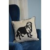 Curtain Chic Faithful Companions Golden Retriever Dog Pillow Cover