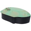 Bodhi Tree Collections Round Leaf Box with Cricket