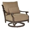 Pride Family Brands Grand Regent Swivel Lounge Chair with Cushion