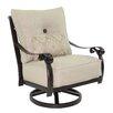 Pride Family Brands Bellanova Lounge Swivel Chair with Cushion