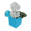 Wall Mates Push 'N Stay Square Suction Flower and Plant Holder