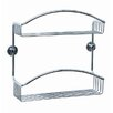 no drilling required Draad Double Shower Caddy