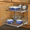 """Rev-A-Shelf 18"""" Two-Tier Wire Basket"""
