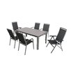 MWH Amico / Rocco 6 Seater Dining Set